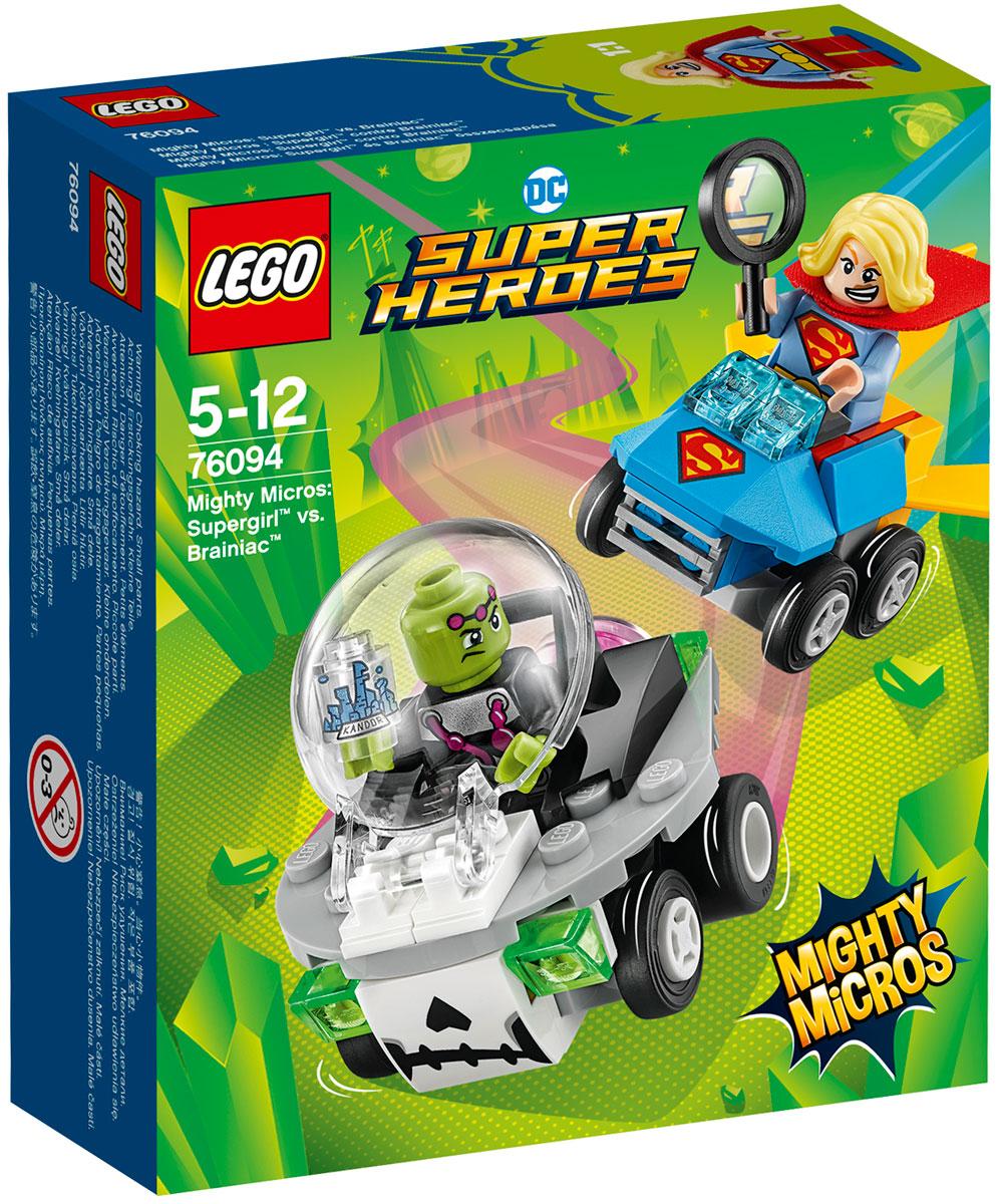 LEGO Super Heroes Конструктор Mighty Micros Супергерл против Брейниака 76094 lego 60139 город мобильный командный центр