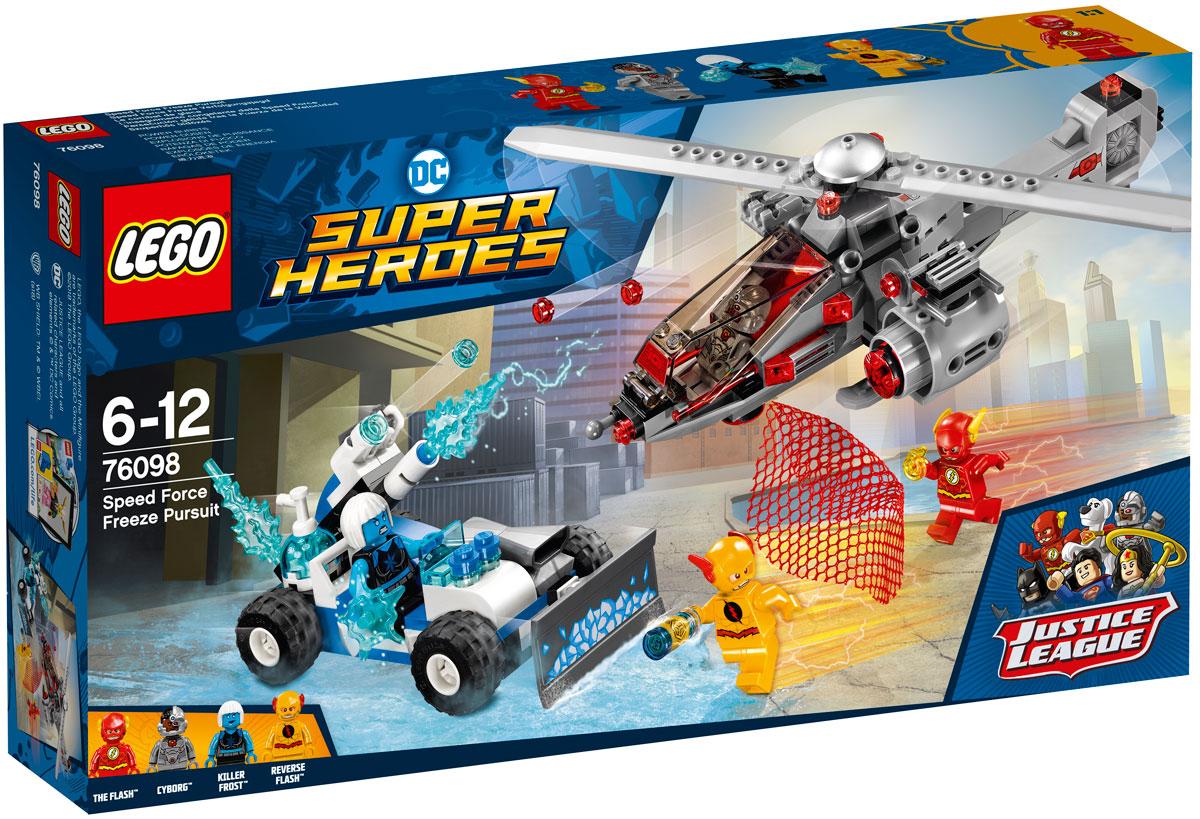 LEGO Super Heroes Конструктор Скоростная погоня 76098 lego super heroes конструктор скоростная погоня 76098