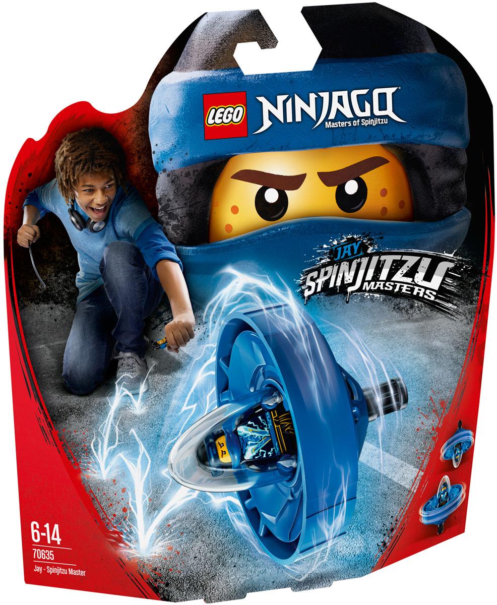 LEGO Ninjago Конструктор Джей - Мастер Кружитцу 70635