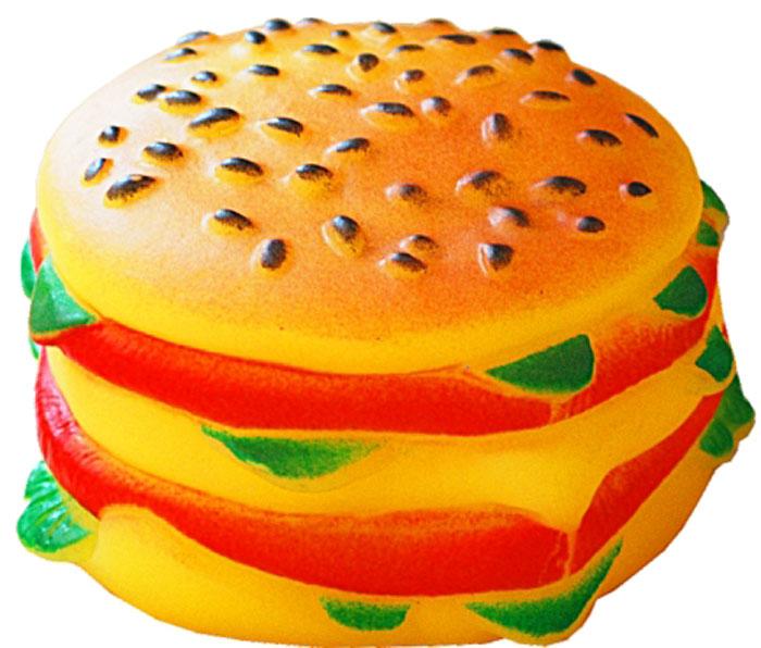 Игрушка для собак Уют Гамбургер, 9 x 5 см игрушка для животных каскад гамбургер диаметр 7 5 см