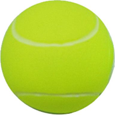 Игрушка для собак Уют Мяч теннисный, 7 см