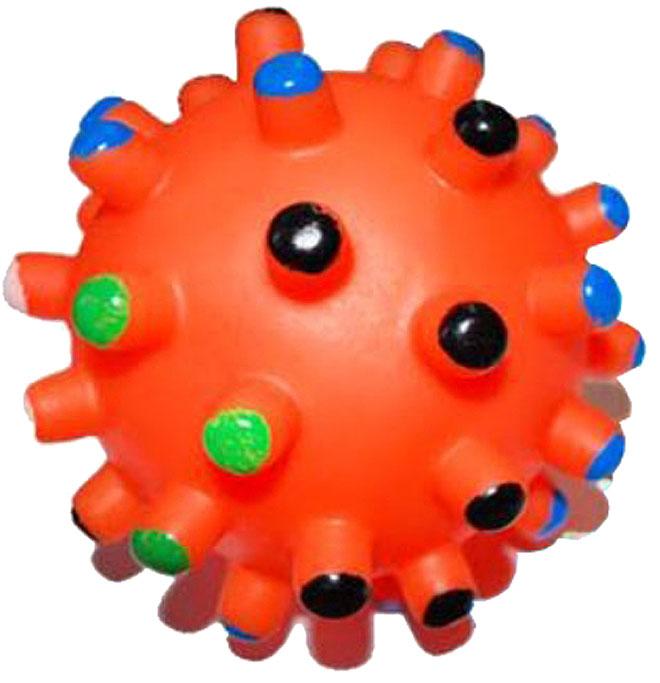 Игрушка для собак Уют Мяч мина, 10 см игрушка для животных каскад мяч мина резиновый цвет красный 10 см
