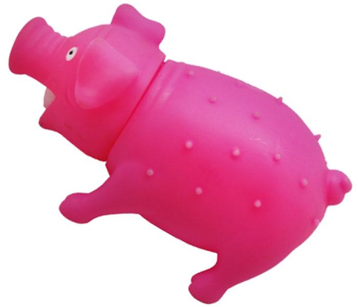 Игрушка для собак Уют Свинья, 16 x 7 см игрушка для собак уют сыр с мышкой 11 x 5 см