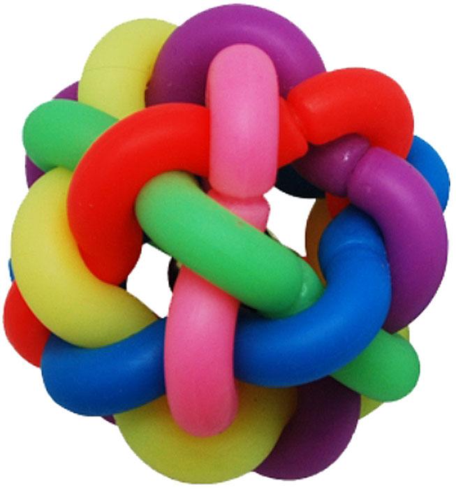 Игрушка для собак Уют Клубок, 6,8 смИШ41Игрушка для собак Уют выполнена из винила в виде клубка. Подходит для собак мелких и средних пород. Прочные безопасные материалы. Яркая, привлекательная расцветка.