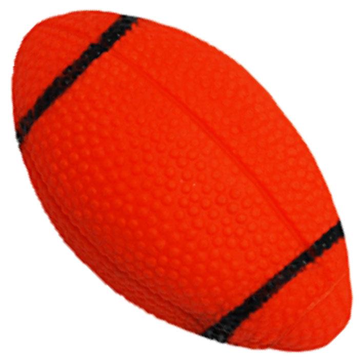 Игрушка для собак Уют Мяч для регби, 7 смИШ45Игрушка для собак Уют выполнена из винила в виде мяча для регби. Подходит для собак мелких и средних пород. Прочные безопасные материалы. Яркая, привлекательная расцветка.