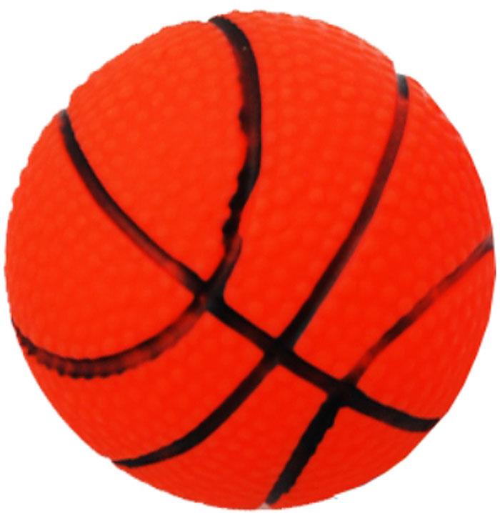 Игрушка для собак Уют Мяч баскетбольный, 7 смИШ47Игрушка для собак Уют выполнена из винила в виде баскетбольного мяча. Подходит для собак мелких и средних пород. Прочные безопасные материалы. Яркая, привлекательная расцветка.