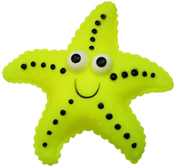 Игрушка для собак Уют Морская звезда, 13 см уют