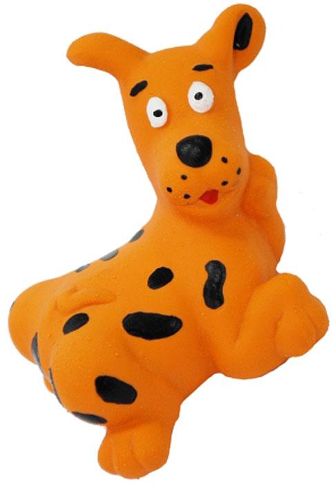 Игрушка для собак №1 Собачка, с пищалкой, 10 смЛС10Игрушка для собак №1 выполнена в виде собачки. Собаки очень любят играть. Игрушка оснащена пищалкой, благодаря которой собака с радостью ее хватает и подбрасывает.