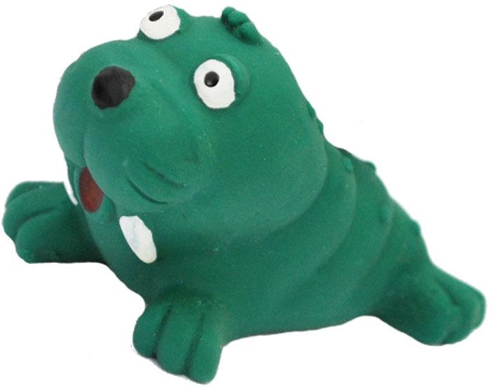 Игрушка для собак №1 Нерпа, с пищалкой, средний, 10 смЛС9Игрушка для собак №1 выполнена в виде нерпы. Собаки очень любят играть. Игрушка оснащена пищалкой, благодаря которой собака с радостью ее хватает и подбрасывает.