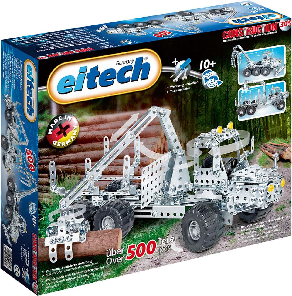 Eitech Конструктор металлический Лесовоз конструкторы eitech конструктор меxаник 250 деталей