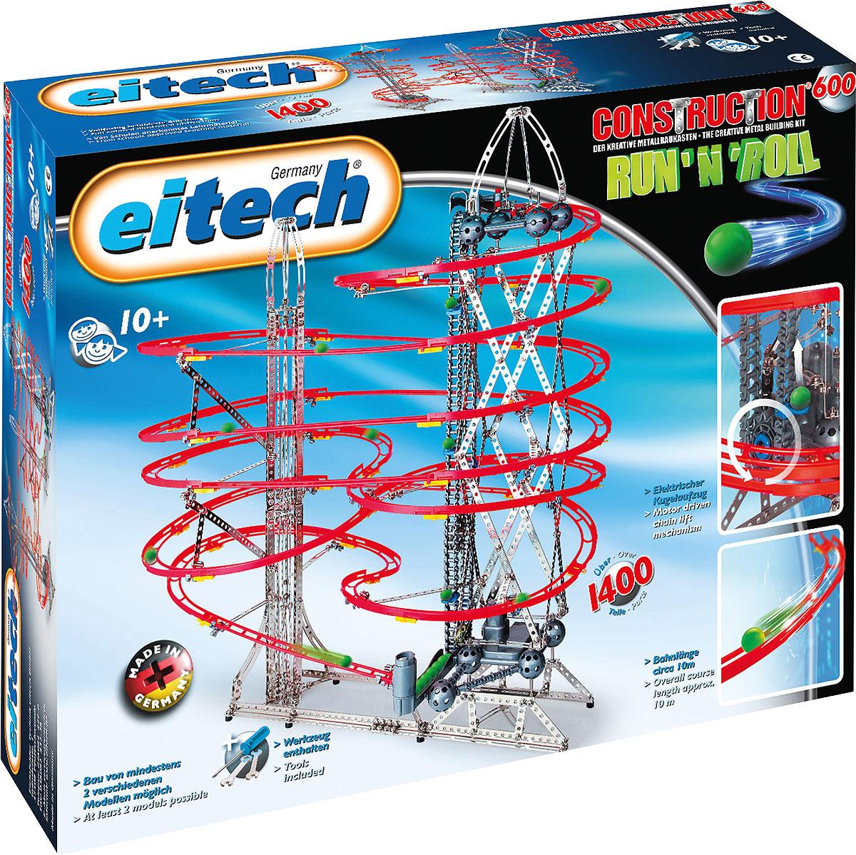 Eitech Конструктор металлический Серпантин 00600 magformers магнитный конструктор creative 90