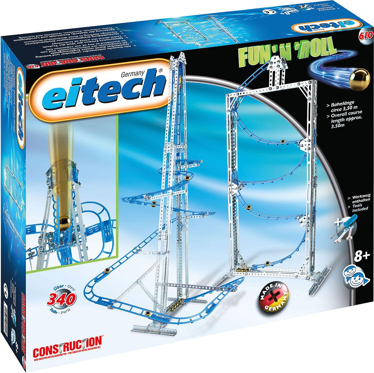 Eitech Конструктор Серпантин 00610 конструкторы eitech конструктор меxаник 250 деталей