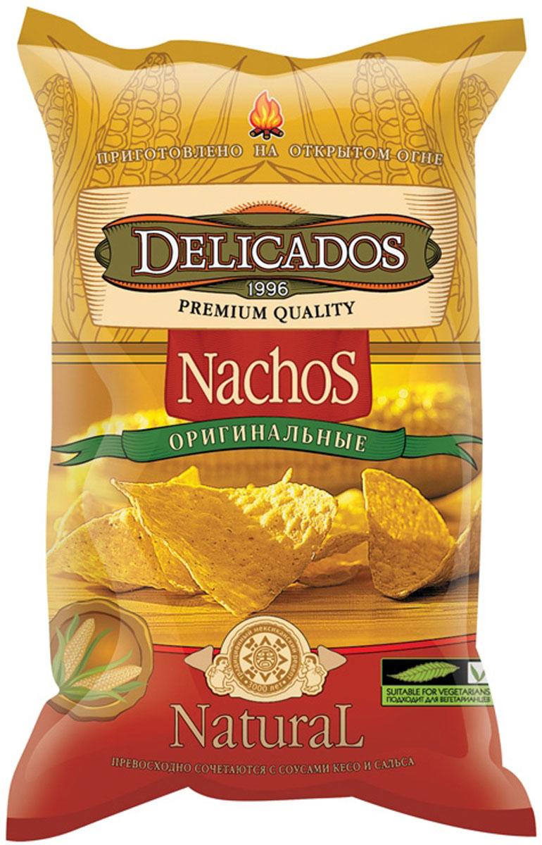 Delicados чипсы кукурузные оригинальные, 75 г цена 2017