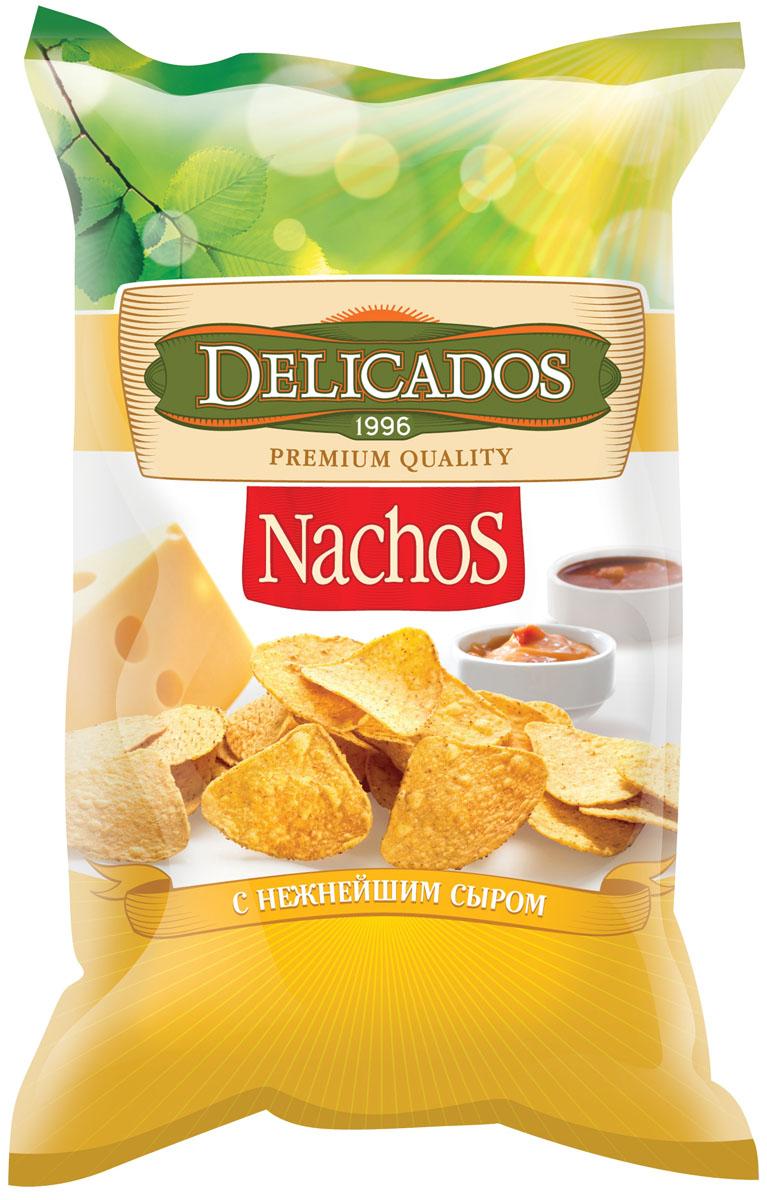 Delicados чипсы кукурузные с сыром, 75 гбзщ004