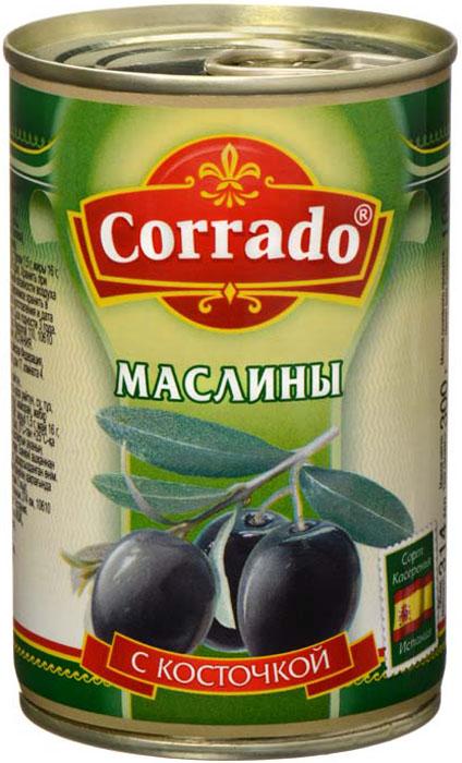 Corrado маслины с косточкой, 300 г озерский сувенир клубника николаевна в шоколадной глазури драже 135 г