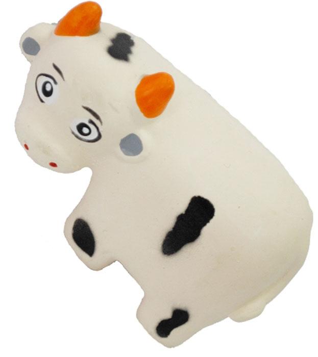 Игрушка для собак №1 Теленок, с пищалкой, 9 смЛС18Игрушка для собак №1 выполнена в виде теленка. Собаки очень любят играть. Игрушка оснащена пищалкой, благодаря которой собака с радостью ее хватает и подбрасывает.