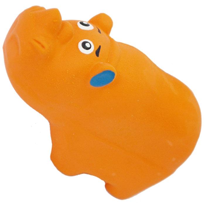 Игрушка для собак №1 Носорог, с пищалкой, 9 см игрушка для собак lilli pet веселый мячик с пищалкой ф 7см винил