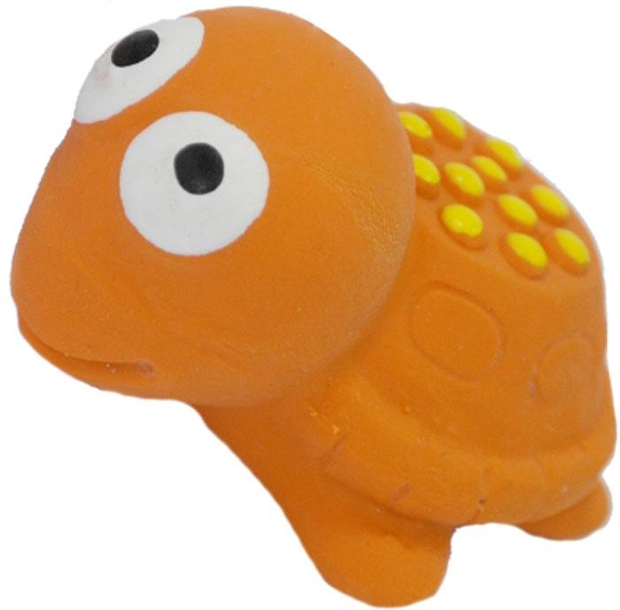 Игрушка для собак №1 Черепашка, с пищалкой, 5,5 см игрушка для собак lilli pet веселый мячик с пищалкой ф 7см винил