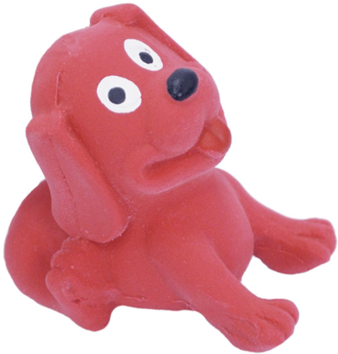 Игрушка для собак №1 Щенок с пищалкой, с пищалкой, 6 см игрушка для собак lilli pet веселый мячик с пищалкой ф 7см винил