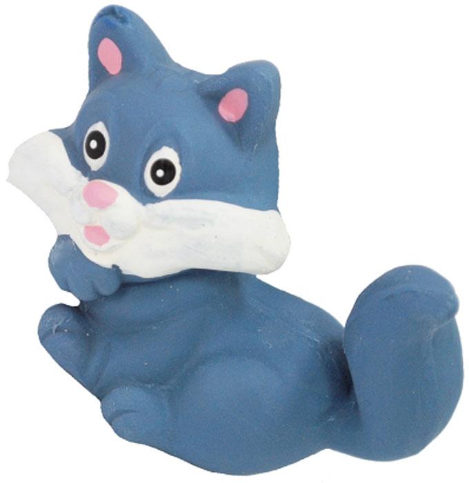 Игрушка для собак №1 Котенок, с пищалкой, 6 см игрушка для собак lilli pet веселый мячик с пищалкой ф 7см винил