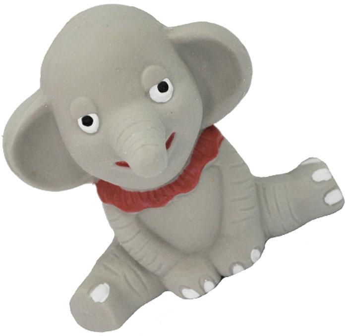 Игрушка для собак №1 Слоненок, с пищалкой, 10 смЛС57Игрушка для собак №1 выполнена в виде слоненка. Собаки очень любят играть. Игрушка оснащена пищалкой, благодаря которой собака с радостью ее хватает и подбрасывает.