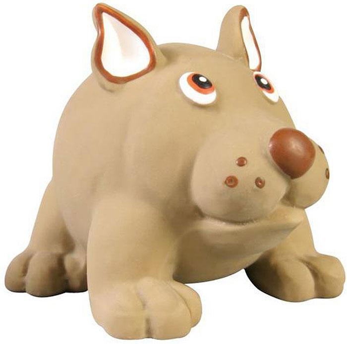 Игрушка для собак №1 Толстый пес, с пищалкой, 8 смЛС76Игрушка для собак №1 выполнена в виде собачки. Собаки очень любят играть. Игрушка оснащена пищалкой, благодаря которой собака с радостью ее хватает и подбрасывает.
