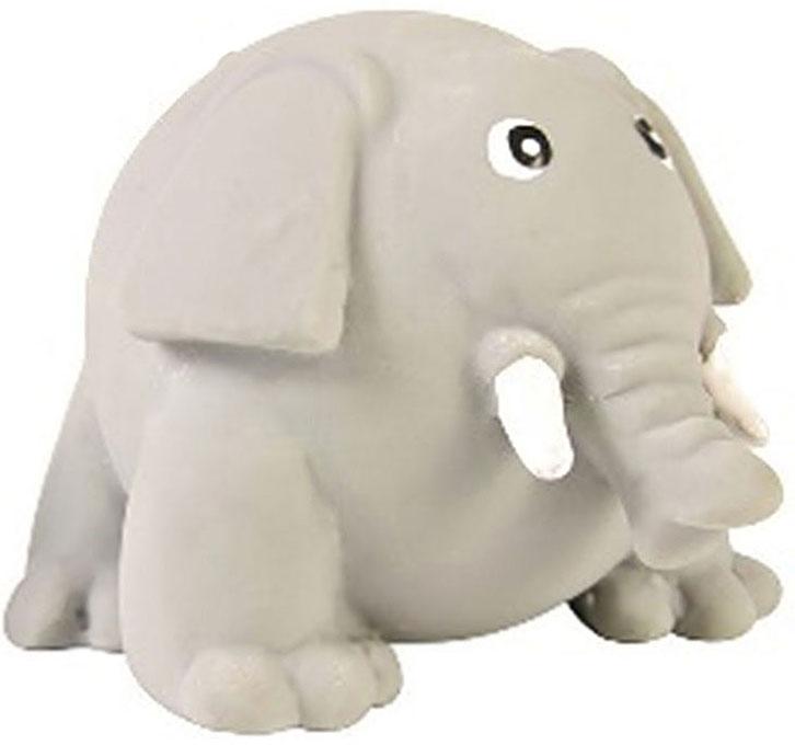 Игрушка для собак №1 Толстый слон, с пищалкой, 8 см трикси игрушка для собак собака 28 см