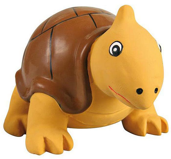 Игрушка для собак №1 Толстая черепаха, с пищалкой, 8 смЛС79Игрушка для собак №1 выполнена в виде черепахи. Собаки очень любят играть. Игрушка оснащена пищалкой, благодаря которой собака с радостью ее хватает и подбрасывает.