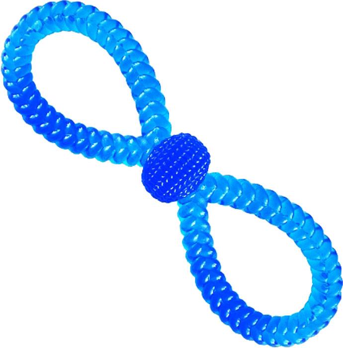 Игрушка для собак №1 ВосьмеркаТ10Уникальная форма игрушки для собак №1 способствует массажу десен во время игры, удаляет зубной налет. Долговечные игрушки для профилактики заболевания полости рта.