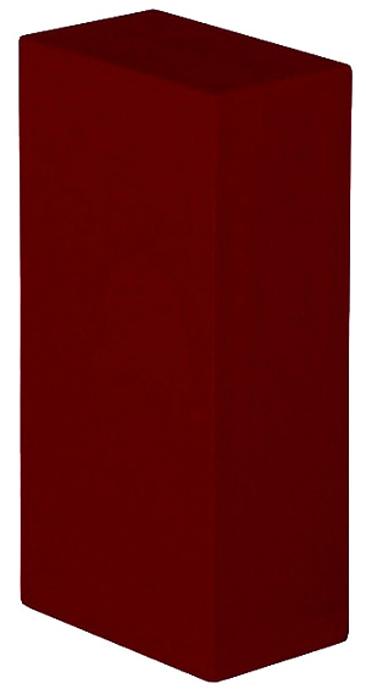 Блок опорный для йоги Bodhi Eva Bodhi 30.5, цвет: бордовый, 30,5 х 20,5 х 5 см2000000000473Плоский йога-блок служит опорой при выполнении перевернутых асан (халасана (поза плуга)сарвангасана (поза свечи), випарита-карани). Вам может потребоваться несколько таких блоков - 4 для качественного выполнения асаны. Изготовлен из вспененного мягкого и упругого материала. Основной плюс этих блоков в том, что они, по сравнению с одеялами (для сарвангасаны нужно 4 одеяла), мало весят и более компактны.
