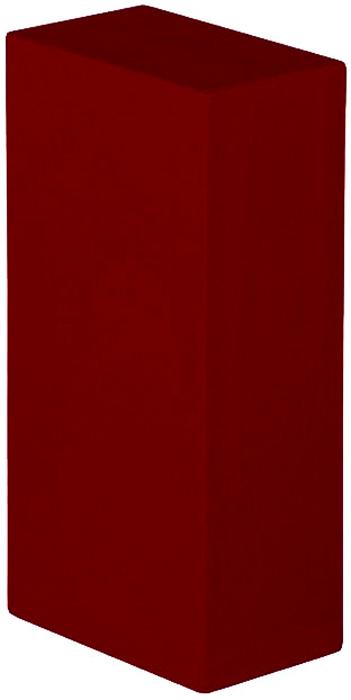 Блок опорный для йоги Bodhi Eva Bodhi 22, цвет: бордовый, 22 х 11 х 6,6 см2000000000480Опорный блок (кирпич) будет незаменим в практике йогой.Стандартный размер 22 х 11 х 6,6 см, специально разработан для занятий йогой.Этот опорный блок очень прочный и упругий, при этом совершенно легкий.Сделан из плотной пластиковой EVA пены с закругленными гранями.