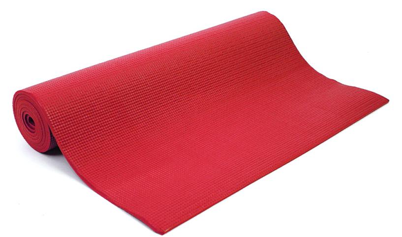 Коврик для йоги и фитнеса Yogin Shanti, цвет: красный, 60 х 0,6 х 183 см2000096310586Липкий армированный йога-коврик Shanti - это йога-мат повышенного комфорта для статической практики. Он подойдет всем категориям занимающихся, особенно если занятия проходят на холодной и жесткой поверхности. Стандартные длина и ширина сочетаются в нем с повышенной (6мм) толщиной. Коврик Шанти мягкий, обеспечит вам комфорт и устойчивость при занятиях йогой. Он сделан из PVC/vinil пены. Коврик не растягивается в процессе практики, прошёл независимое тестирование (SGS) на отсутствие токсичных веществ и полностью соответствует EU стандарту (стандарт безопасности игрушек).