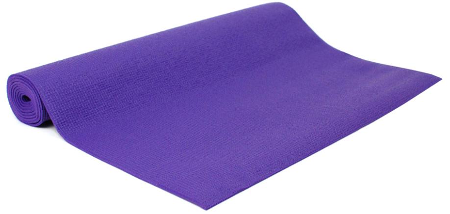 Коврик для йоги и фитнеса Yogin Practika, цвет: фиолетовый, 60 х 0,3 х 173 см2000102668182Этот йога-мат - наш подарок начинающим любителям йоги и йога-студиям. Мы установили на коврик для йоги Practika такие низкие цены, чтобы новички могли без больших затрат попробовать йогу и убедиться в ее эффективности. При этом не нужно заниматься на подручных средствах, а сразу можно начать занятия на специализированном армированном и гигиеничном коврике!Йога-мат Practika - это самое дешевое предложение из всего спектра ковриков для йоги в России. Но это совсем не значит, что этот йога-коврик - плохой. Он сделан из качественных материалов, идентичных по своим свойствам более дорогим моделям.Вы можете начать практику с этим ковриком и в дальнейшем сделать осознанный выбор своего, подходящего именно Вам коврика из более дорогих моделей. Если Вы еще захотите его менять!Коврик для йоги Practika имеет небольшой вес, он весит всего около 900 гр. Это позволяет использовать его для поездок, в том числе для выездных семинаров. Он прочный, гигиеничный, за ним легко ухаживать, что является еще одним важным его преимуществом.Ограничением коврика можно считать габариты, его длина 173см может оказаться недостаточной для людей высокого роста. Возможно, Вы захотите иметь более комфортный и толстый коврик, если занятия проходят на очень жестком полу. Его толщина 3мм в этом случае может оказаться недостаточной для защиты коленей, хотя обеспечит стабильность в балансовых асанах.