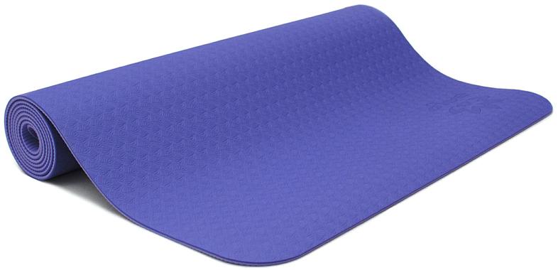 Коврик для йоги и фитнеса Ojas Shakti , цвет: фиолетовый, 60 х 0,4 х 183 см2000102671236Коврик для йоги и фитнеса Ojas Shakti - это экологичный и гипоаллергенный коврик для йоги стандартной толщины, значительно легче любого другого коврика этих габаритов.Толщина 4 мм обеспечивает небольшой объем коврика и малый вес, при этом не в ущерб упругости и теплоизоляции. Изготовлен по технологии TPE (thermal plastic elastomer). Разное рифление поверхностей обеспечивает чуть разное качество сцепления с ладонями или с полом.Дело даже не в собственно трении, а в ощущении фактуры коврика под ладонями. Вы можете сами выбрать ту поверхность для регулярных занятий, которая для вас наиболее комфортна. Одна сторона имеет более светлый тон, чем другая, и вы можете чередовать рабочие поверхности сообразуясь с вашим текущим настроением. Обе поверхности имеют примерно идентичные свойства и могут быть использованы для практики. Преимущества: уникальное сцепление, разные цвета поверхностей, легкость, отличная теплоизоляция, небольшой объем, упругость. Как выбрать коврик для йоги – статья на OZON Гид.