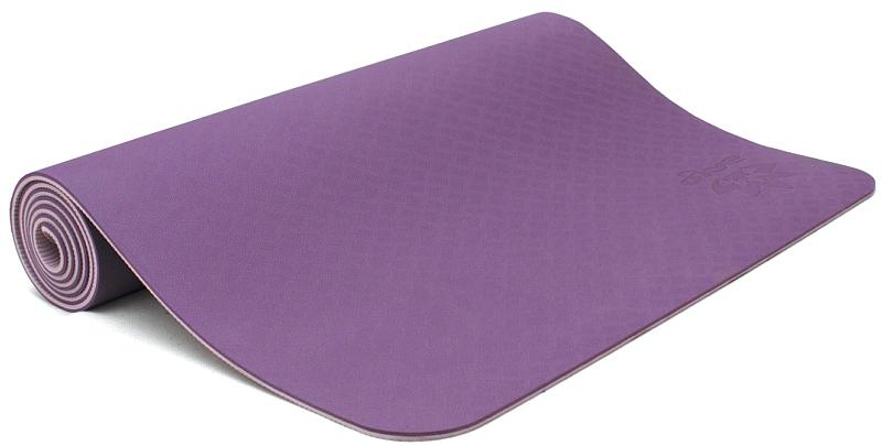 Коврик для йоги и фитнеса Ojas  Shakti Pro , цвет: розовый, 60 х 0,6 х 183 см - Инвентарь