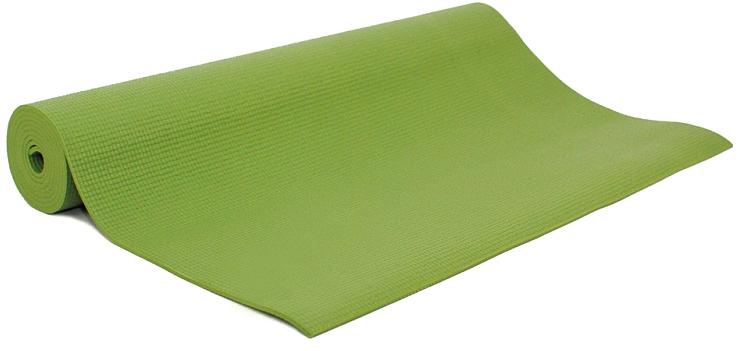 Коврик для йоги и фитнеса Bodhi Asana Mat, цвет: салатовый, 60 х 0,4 х 183 см2000102672479Asana Mat - эффектный и легкий коврик для йоги и фитнеса размером 183см х 60см х 4мм. Самое большое разнообразие цветов! На поверхности нанесен небольшой фирменный знак производителя - Bodhi.Нескользкий и мягкий, этот коврик для практики йоги легко сворачивается и удобен в транспортировке, хорошо моется. Устойчив к истиранию, армирован, не тянется как в продольном, так и в поперечном направлении. Его толщины хватает для комфорта в позах со стойкой на коленях, а также сидячих, стоячих и лежачих позах. Этот коврик рекомендован для всех типов йоги. Он проверен на отсутствие вредных веществ (сертификат Оеко-Текс 100 Level 2), поэтому он полностью безвреден при контакте с кожей.