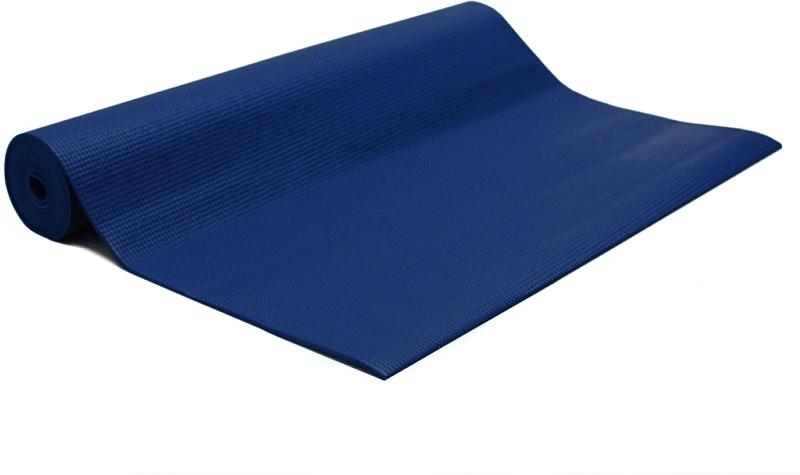 Коврик для йоги и фитнеса Bodhi Asana Mat, цвет: синий, 60 х 0,4 х 183 см2000102672509Asana Mat - эффектный и легкий коврик для йоги и фитнеса размером 183см х 60см х 4мм. Самое большое разнообразие цветов! На поверхности нанесен небольшой фирменный знак произвродителя - Bodhi.Нескользкий и мягкий, этот коврик для практики йоги легко сворачивается и удобен в транспортировке, хорошо моется. Устойчив к истиранию, армирован, не тянется как в продольном, так и в поперечном направлении. Его толщины хватает для комфорта в позах со стойкой на коленях, а также сидячих, стоячих и лежачих позах. Этот коврик рекомендован для всех типов йоги. Он проверен на отсутствие вредных веществ (сертификат Оеко-Текс 100 Level 2), поэтому он полностью безвреден при контакте с кожей.