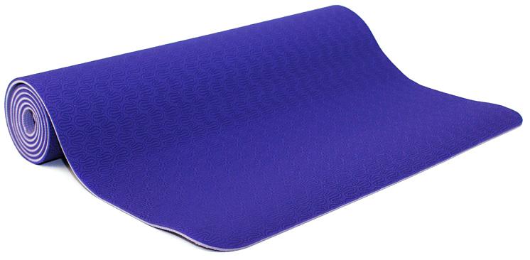 Коврик для йоги и фитнеса Bodhi Lotus Pro, цвет: фиолетовый, 60 х 0,6 х 183 см2000102672646Lotus Pro признан элитным ковриком для йоги. Это очень липкий йога-мат для занятий йогой, пилатесом. Технология TPE гарантирует отсутствие соединений хлора при производстве и считается довольно экологичным. Поверхность двусторонняя с различным рельефом, очень мягкая. Она обеспечивают отличные противоскользящие свойства. Упругий, мягкий, толстый коврик предохранит твердые части тела при упорах на жестком полу в зале. На коврике выдавлен знак ОМ. Коврик очень легкий, весит всего 1200 грамм.Легкий и прочный, этот коврик будет вашим надежным спутником как при регулярной практике в йога-центре, так и в путешествиях. Lotus очень часто выбирают девушки и женщины, насыщенные расцветки и невероятно приятный материал, в который влюбляешься с первого прикосновения.