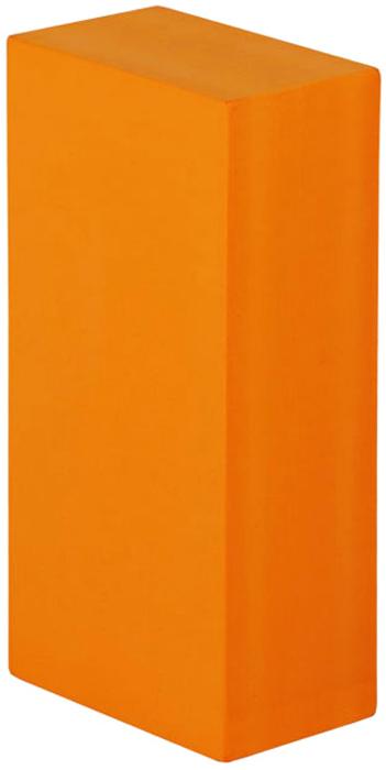Блок опорный для йоги Bodhi Eva Bodhi 22, цвет: оранжевый, 22 х 11 х 6,6 см2000102673568Опорный блок (кирпич) будет незаменим в практике йогой.Стандартный размер 22 х 11 х 6,6 см, специально разработан для занятий йогой.Этот опорный блок очень прочный и упругий, при этом совершенно легкий.Сделан из плотной пластиковой EVA пены с закругленными гранями.