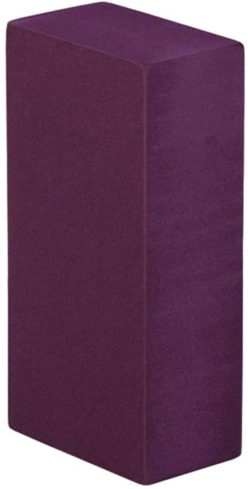 Блок опорный для йоги Bodhi Eva Bodhi 22, цвет: фиолетовый, 22 х 11 х 6,6 см2000102673582Опорный блок (кирпич) будет незаменим в практике йогой.Стандартный размер 22 х 11 х 6,6 см, специально разработан для занятий йогой.Этот опорный блок очень прочный и упругий, при этом совершенно легкий.Сделан из плотной пластиковой EVA пены с закругленными гранями.