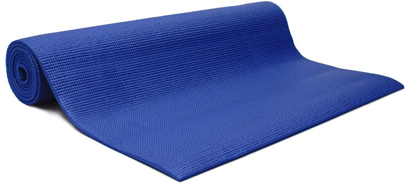 Коврик для йоги и фитнеса Yogin Shanti, цвет: синий, 60 х 0,6 х 183 см2000102675555Липкий армированный йога-коврик Shanti - это йога-мат повышенного комфорта для статической практики. Он подойдет всем категориям занимающихся, особенно если занятия проходят на холодной и жесткой поверхности. Стандартные длина и ширина сочетаются в нем с повышенной (6 мм) толщиной. Коврик Шантиобеспечит вам комфорт и устойчивость при занятиях йогой. Он выполнен из PVC/vinil пены. Коврик не растягивается в процессе практики, прошел независимое тестирование (SGS) на отсутствие токсичных веществ и полностью соответствует EU стандарту (стандарт безопасности игрушек). Как выбрать коврик для йоги – статья на OZON Гид.
