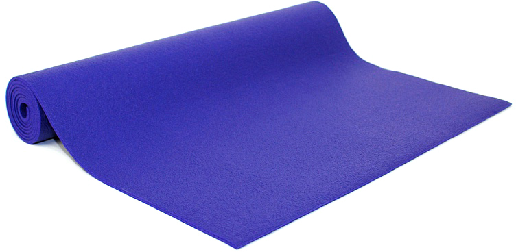 Коврик для йоги и фитнеса Bodhi Rishikesh 60, цвет: фиолетовый, 60 х 0,45 х 185 см коврик для йоги и фитнеса bodhi kailash 60 цвет серый 60 х 0 3 х 185 см