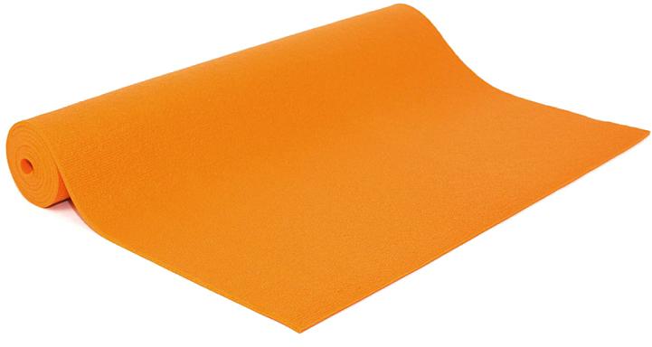 Коврик для йоги и фитнеса Bodhi Rishikesh 60, цвет: оранжевый, 60 х 0,45 х 185 см дерево для украшений bodhi черное
