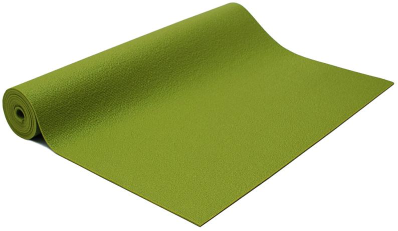 Коврик для йоги и фитнеса Bodhi Rishikesh 60, цвет: салатовый, 60 х 0,45 х 175 см2000102694105Именно с коврика для йоги Rishikesh (Ришикеш) мы начали знакомить любителей йоги в России с продукцией немецкой компании F.A.Bodhi в 2002 году. Этот коврик до сих пор является бестселлером в своей ценовой категории, несмотря на некоторые недостатки. Вернее, недостаток у него только один - при влажных ладонях он может проскальзывать. Но это свойство в той или иной мере присутствует у любого коврика из ПВХ.Но это с лихвой окупается его достоинствами, в числе которых:1. Коврик удивительно жизнестоек, его практически невозможно стереть даже людям с повышенным весом и интенсивной практикой.2. Он плотный и упругий, что обеспечивает реальный комфорт во время занятий.3. Он сравнительно недорог, находится в золотой середине по цене среди аналогов.4. Коврик Rishikesh представлен в 7 цветах, так что Вы можете выбрать именно тот, который Вам подходит больше всего.5. Это один из немногих ковриков, которые можно купить различной длины (мы предлагаем следующие варианты размеров: 175см, 185см, 200см, 220см.6. Коврик имеет 2 варианта исполнения по ширине 60 см (стандарт) и повышенная ширина 80см (Rishikesh-80). Последний вариант рекомендуется габаритным йогам или просто тем, кому нравится иметь вокруг себя побольше личного пространства для практики.7. Этот коврик можно купить в 30м бухтах и самостоятельно нарезать коврики нужной длины.Если Вам нужен надежный, и при этом недорогой и нетяжелый коврик для выездного семинара, в йога-зал, то Ришикеш - кандидат номер один. Он удивительно гигиеничен, к нему не прилипает песок и мусор. Его очень легко мыть - используйте обычную мыльную губку и воду и он будет радовать Вас хорошим внешним видом очень долго.Этот коврик со временем только улучшает свои качества, становится мягче и липче. Его поверхности различаются - нижняя, которая прилегает к полу, полностью гладкая. Это обеспечивает отличное прилипание. Верхняя поверхность шершавая, не дает ладоням