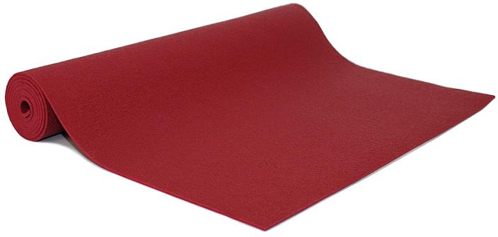 Коврик для йоги и фитнеса Bodhi  Rishikesh 80 , цвет: бордовый, 80 х 0,45 х 220 см - Инвентарь