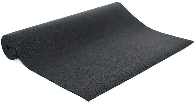 Коврик для йоги и фитнеса Bodhi  Rishikesh 80 , цвет: черный, 80 х 0,45 х 175 см - Инвентарь