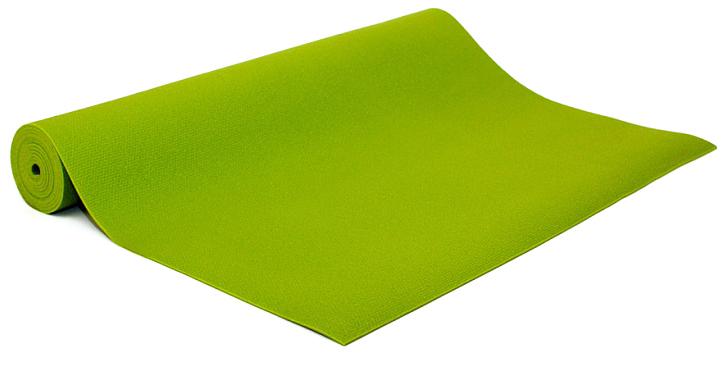 Коврик для йоги и фитнеса Bodhi Kailash 60, цвет: салатовый, 60 х 0,3 х 175 см2000102696567Коврик для йоги Kailash - это тонкий прочный коврик средней стоимости. Его достаточно тяжело причислить к какой-то категории. Он недорогой, сделан из плотной PVC пены, в точности из того же материала, что и коврик Rishikesh. Поэтому его потребительские свойства полностью дублируют йога-мат Ришикеш, за исключением комфортности - толщина йога-мата Кайлаш всего 3мм. В результате с этим ковриком вы получаете хорошую износостойкость, неплохое сцепление при сухих ладонях и небольшой вес. Этот коврик можно смело брать с собой на семинар или в путешествие - он вас не сильно обременит весом и габаритами.Преимущества: прочность, износостойкость, небольшой вес и габариты, бюджетная стоимость, несколько мягких цветов, 4 варианта длины (175, 185, 200, 220см), наличие в 30м бухтах для оптового заказа.Минусы: скользкость при влажных ладонях, жесткость из-за маленькой толщины.