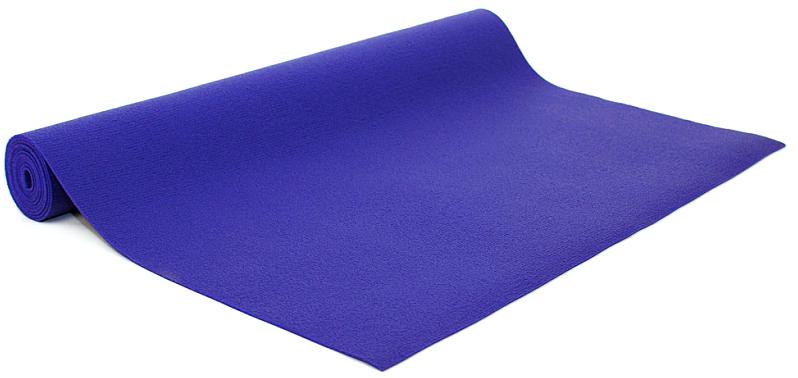 Коврик для йоги и фитнеса Bodhi  Kailash 60 , цвет: фиолетовый, 60 х 0,3 х 185 см - Инвентарь