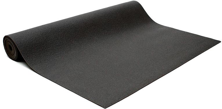 Коврик для йоги и фитнеса Bodhi Kailash 60, цвет: черный, 60 х 0,3 х 200 см2000102696697Коврик для йоги Kailash - это тонкий прочный коврик средней стоимости. Его достаточно тяжело причислить к какой-то категории. Он недорогой, сделан из плотной PVC пены, в точности из того же материала, что и коврик Rishikesh. Поэтому его потребительские свойства полностью дублируют йога-мат Ришикеш, за исключением комфортности - толщина йога-мата Кайлаш всего 3мм. В результате с этим ковриком вы получаете хорошую износостойкость, неплохое сцепление при сухих ладонях и небольшой вес. Этот коврик можно смело брать с собой на семинар или в путешествие - он вас не сильно обременит весом и габаритами.Преимущества: прочность, износостойкость, небольшой вес и габариты, бюджетная стоимость, несколько мягких цветов, 4 варианта длины (175, 185, 200, 220см), наличие в 30м бухтах для оптового заказа.Минусы: скользкость при влажных ладонях, жесткость из-за маленькой толщины.