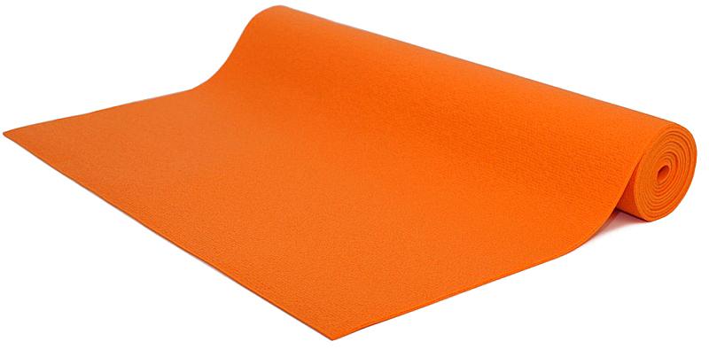 Коврик для йоги и фитнеса Bodhi Kailash 60, цвет: оранжевый, 60 х 0,3 х 200 см2000102696727Коврик для йоги Kailash - это тонкий прочный коврик средней стоимости. Его достаточно тяжело причислить к какой-то категории. Он недорогой, сделан из плотной PVC пены, в точности из того же материала, что и коврик Rishikesh. Поэтому его потребительские свойства полностью дублируют йога-мат Ришикеш, за исключением комфортности - толщина йога-мата Кайлаш всего 3мм. В результате с этим ковриком вы получаете хорошую износостойкость, неплохое сцепление при сухих ладонях и небольшой вес. Этот коврик можно смело брать с собой на семинар или в путешествие - он вас не сильно обременит весом и габаритами.Преимущества: прочность, износостойкость, небольшой вес и габариты, бюджетная стоимость, несколько мягких цветов, 4 варианта длины (175, 185, 200, 220см), наличие в 30м бухтах для оптового заказа.Минусы: скользкость при влажных ладонях, жесткость из-за маленькой толщины.
